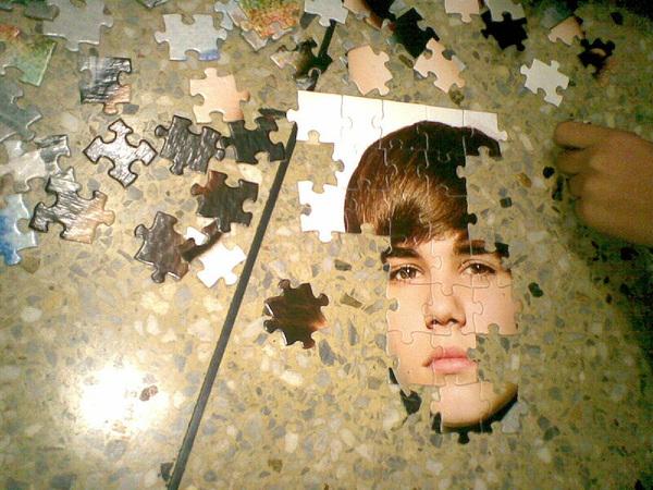 Ya vamos a terminar de armar el rompecabezas de Justin Bieber.