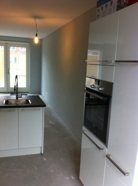 De keuken staat! #nice