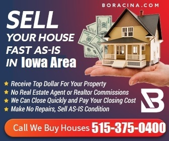 Boracina We Buy Houses Des Moines | Sell house fast Iowa