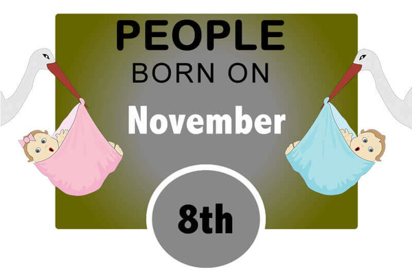 Numerological Personality Traits of People Born on November 8th