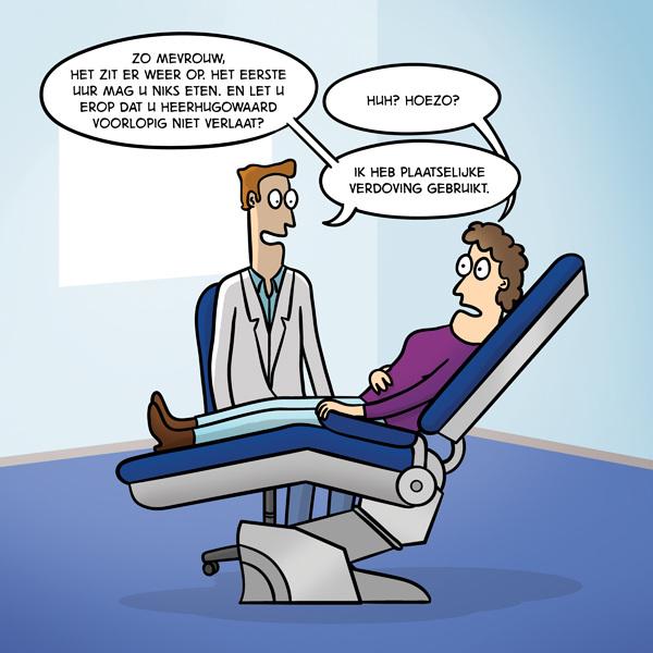 Verdoving #cartoon