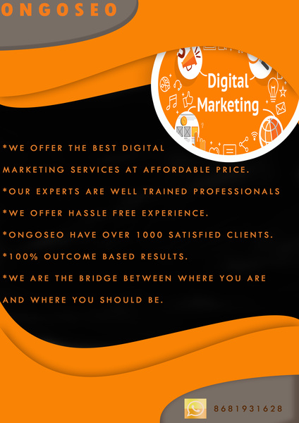 Best Digital Marketing Services in Chennai | Ongoseo