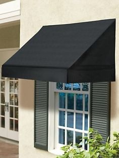 Solid Outdoor Fabric Window Awnings