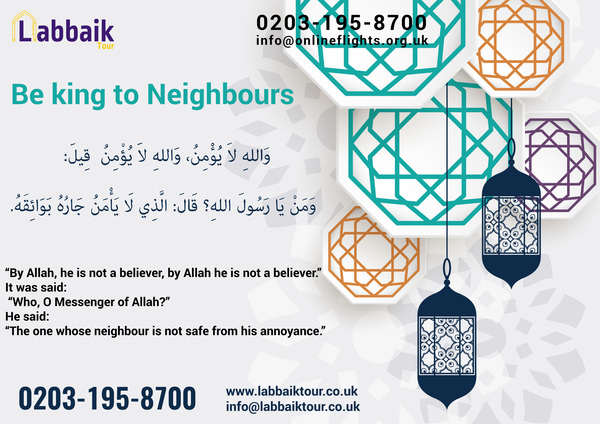 Be king to Neighbours
