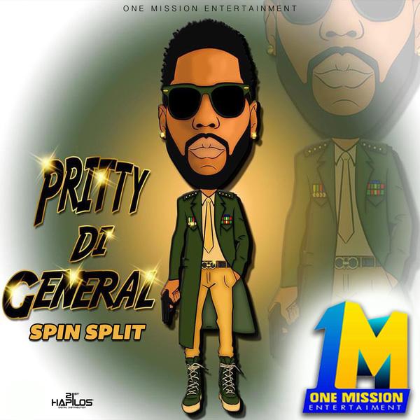 PRITTY DI GENRAL - SPIN SPLIT - SINGLE #ITUNES 2/9/18 @onemissionen