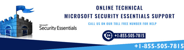 Contact Here +1-855-505-7815 Support For Microsoft Security Essentials