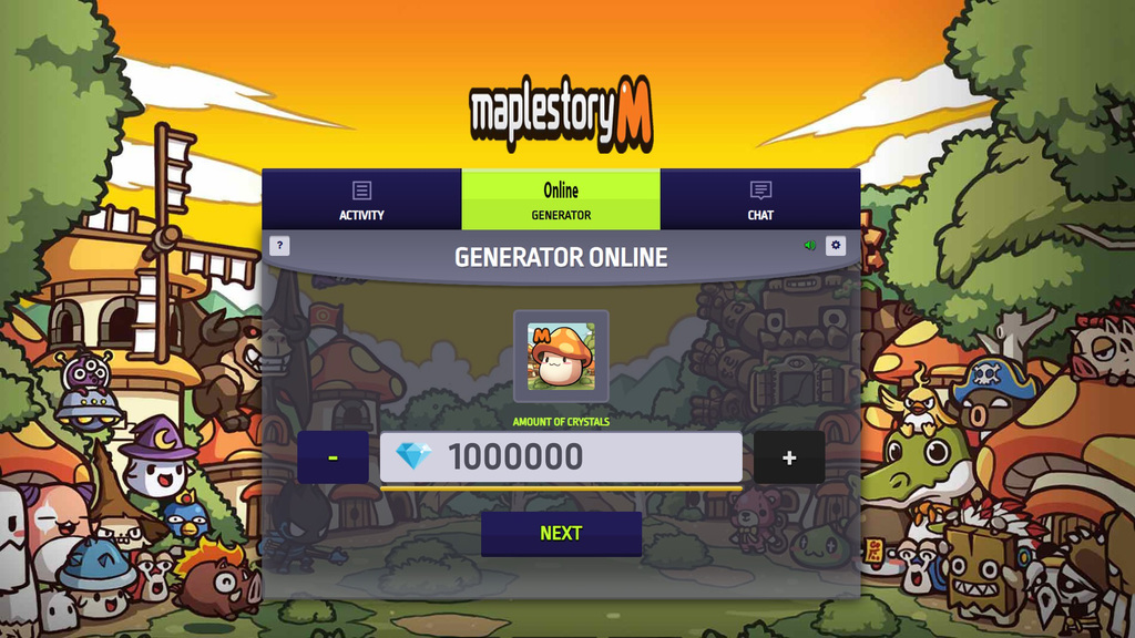 MapleStory M Hack Mod Get Crystals and Coins Unlimited