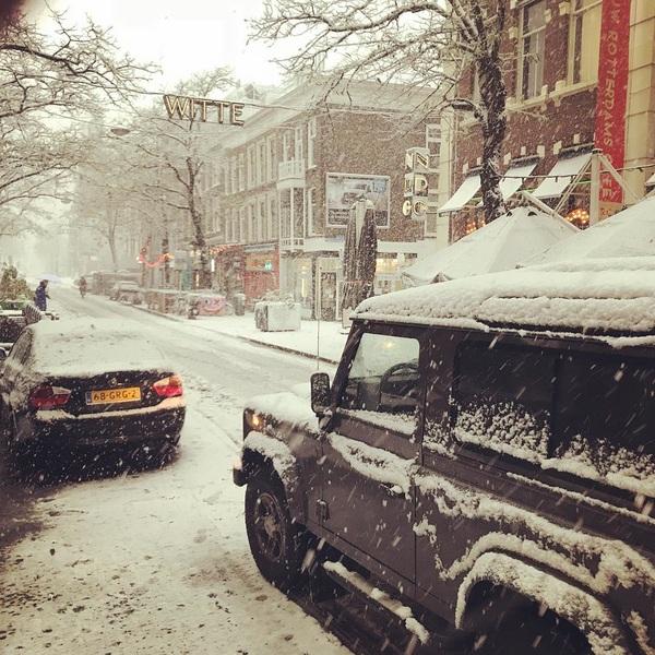 Witte de With #snow #sunday #wittedewith #termarschco #rotterdam
