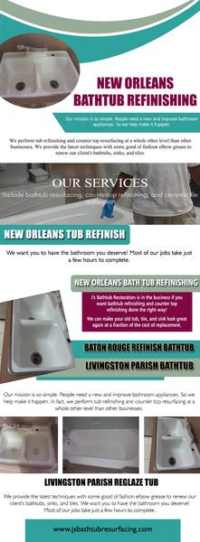 New Orleans Bathtub Refinishing