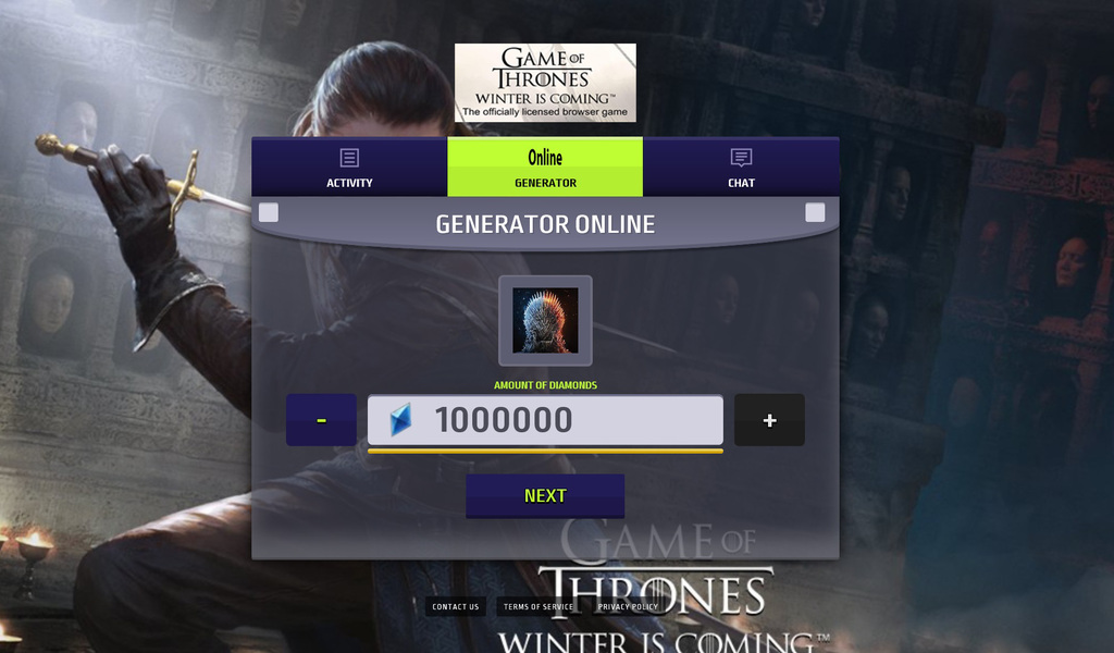 Game of Thrones Winter is Coming Hack Mod Diamonds Unlimited