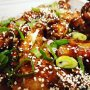 Korean sticky fried chicken and the Unbreakable Kimmy Schmidt, hells yers.