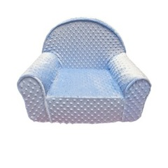 Dotted Minky Fabric Seat