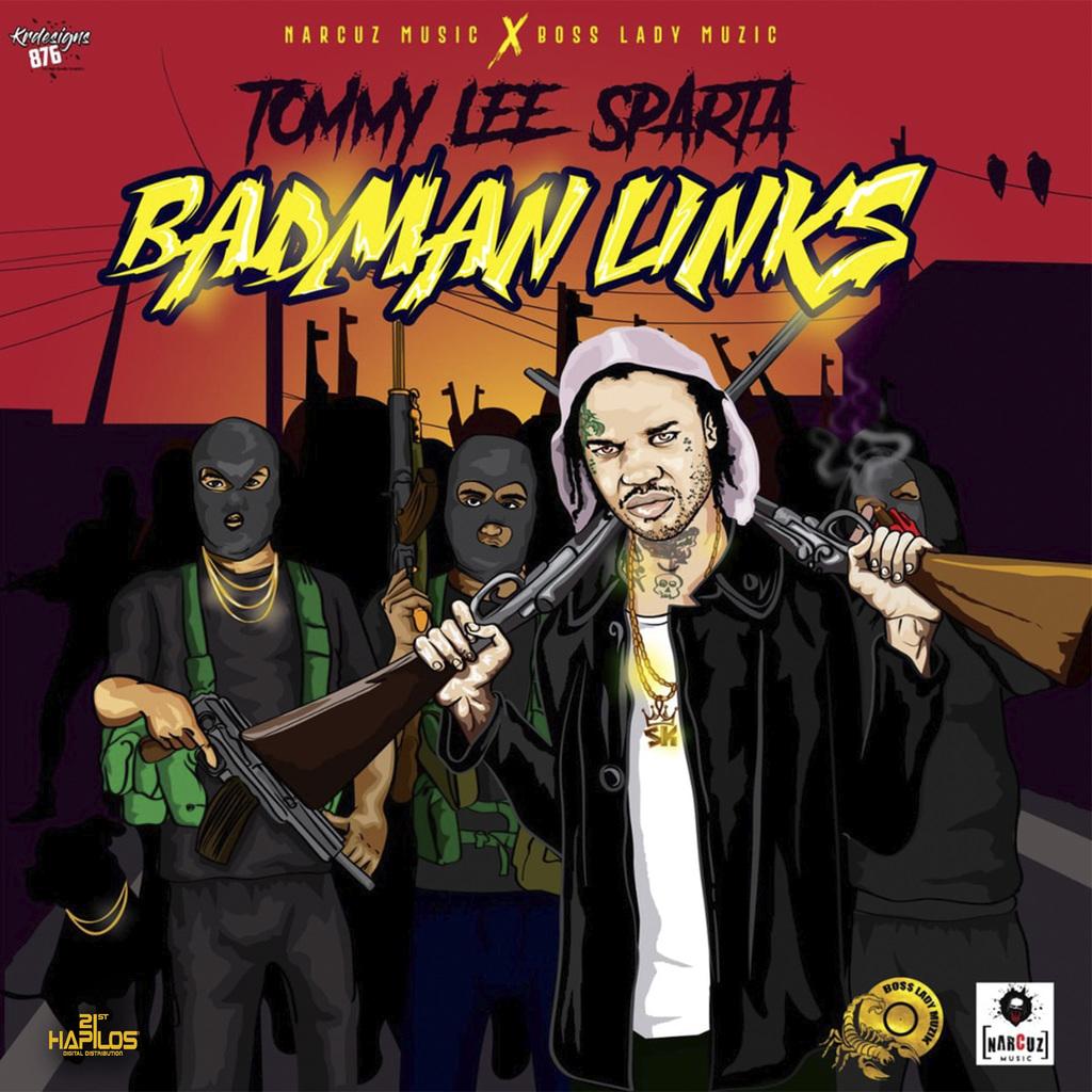 TOMMY LEE SPARTA - BADMAN LINKS - SINGLE #ITUNES 1/18/19