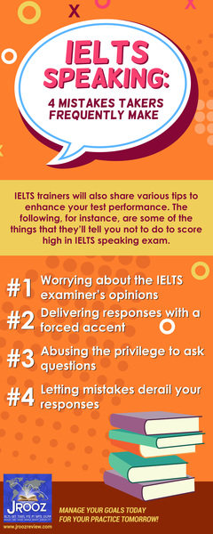 IELTS Speaking: 4 Mistakes Takers Frequently Make