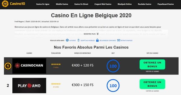 Tout sur le casino en ligne conception