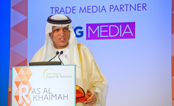 His Highness Sheikh Saud bin Saqr Al Qasimi is interviewed in Ras Al Khaimah