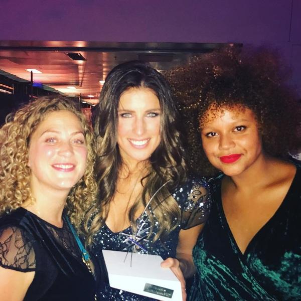 Woop. Deze dame. Televizier Talent Award! #amillionfaces #televizierring