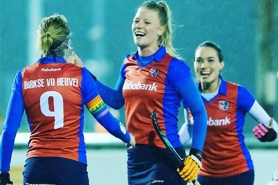 Yeahhh it's time for red and blue again ❤️💙 #schcdames1 #newseasoncomingup #hoofdklassehockey