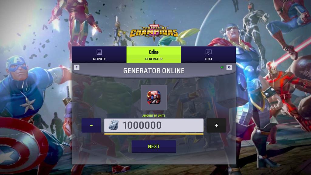 Marvel Contest of Champions Hack Mod – Get Units and Gold