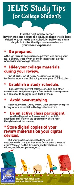 IELTS Study Tips for College Students