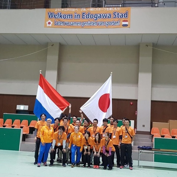 Game Changer project went off with the Para Sports Festival in Edogawa-ku.