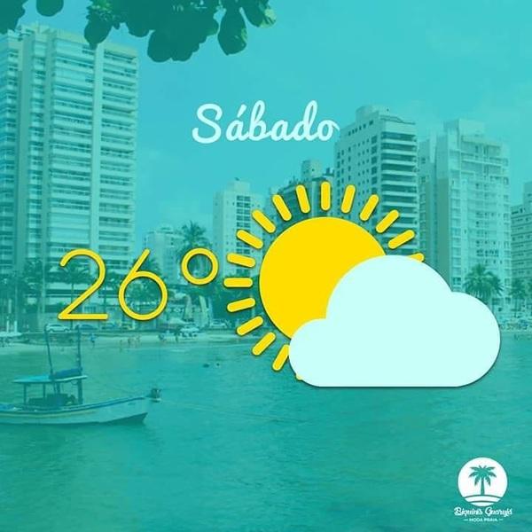 Confira a previsão do tempo para hoje em Guarujá - SP 🌊 . #BiquinísGuarujá #previsaodotempo #guaruja #praia #sol #nublado #summer #love #modapraia #modafeminina #atacado #varejo
