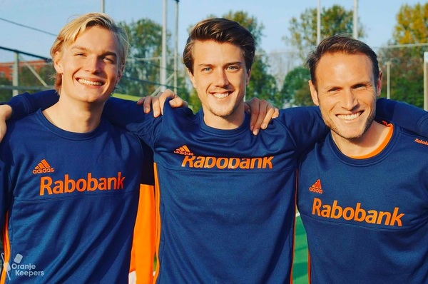 OranjeKeepersKamp 2017 samen met @samven89 @mauritsvisser1 en @arekmat @goalieworks @fihockey @hockeynlopinstagram @hockeypartnernl #onwards