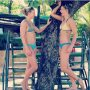 Repost @joystubbe Two monkeys in a tree 🐒 🌴 🤣 #voorelkaar #vanhiertottokyo