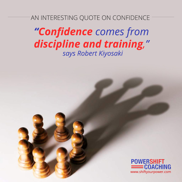An Interesting Quote on Confidence