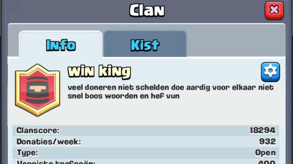 Mika became the head of his clan (clash of clans) and changed the description of his group ❤️#infinitelove #empathy #prouddad #tearsofhappiness