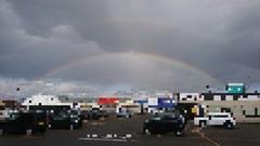 オゥ!ダブルの虹🌈🌈