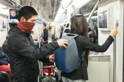 Anti Theft Travel bobby Backpack