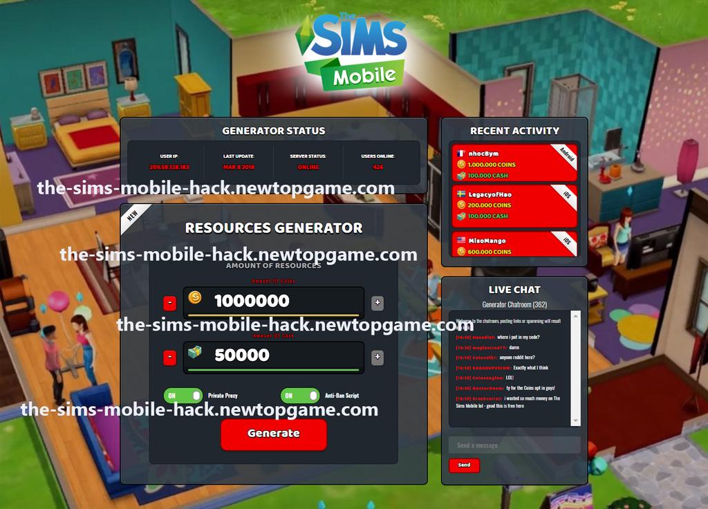the-sims-mobile-hack the-sims-mobile-hack   Nia