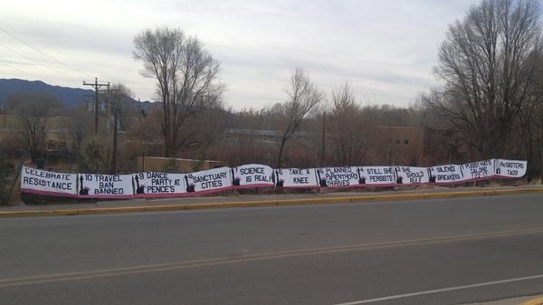 Meanwhile in Taos... #nye #lastdayoftheyear #resist #resistersoftaos #taos #nm