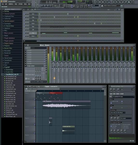 FL Studio 9 SKINS zZbb by Angela Hayes (roerefciaszig1971