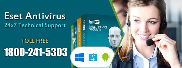 Get ESET NOD32 Support Phone Number 1800-241-5303