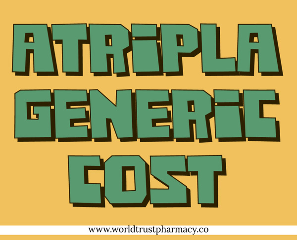 Atripla Generic Cost