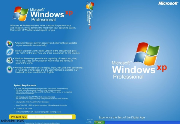 Microsoft Windows XP Professional SP2 OCTOBER Jw4Bf1 by