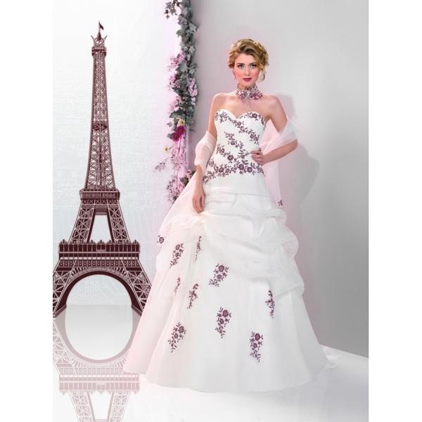 Robes de mariée Miss Paris 2016 - 163-03 - Superbe magasin de mariage pas cher
