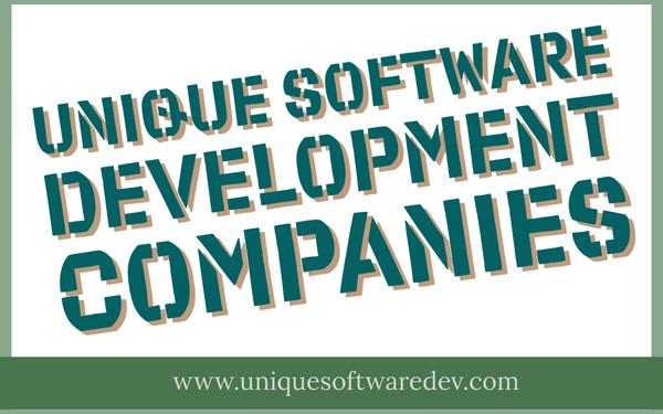 Unique Software Development Companies in Texas