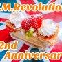 T.M.Revolution 22周年おめでたう\(^-^)/ やっぱりハズせないいちごのバースデーケーキでお祝いだお~🎂 #僕らの誕生日