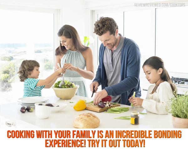 Cooking at Home with the Family