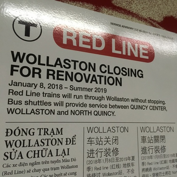I'm confused @MBTA. Does this mean if I'm going farther than Wollaston I can stay on the train?