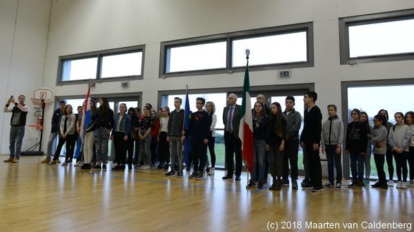 Vandaag een warm welkom voor de derdejaars Blazersklas leerlingen van @rodenborch in Bassano del Grappa