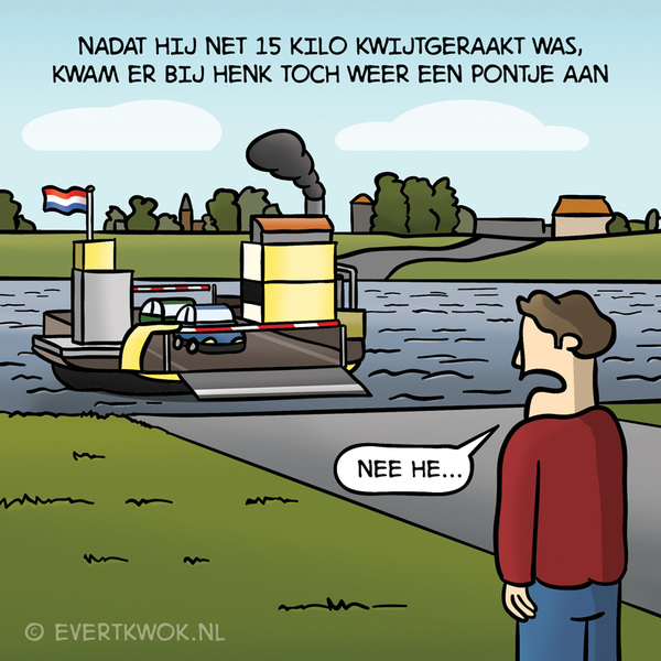 Nee he... #cartoon
