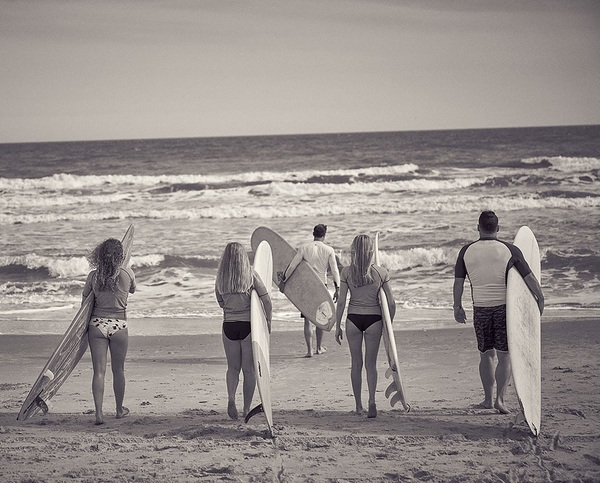 Professional Surf Lessons in Morehead City NC
