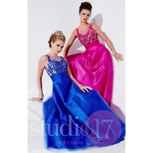 Light Coral Studio 17 12496 - Customize Your Prom Dress