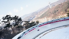 "Hello from the @pyeongchang2018 mountain area! Our @ibsfsliding photographer has arrived on site! Lots of cool pics to come! RepostBy @ibsfsliding: ""When you see pictures like this you know who has arrived in @pyeongchang2018! More of this and photos of official skeleton training on Facebook! 📷 IBSF / @rekords"" (via #InstaRepost @AppsKottage)"