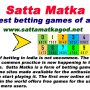 Satta Matka: The finest betting games of all times