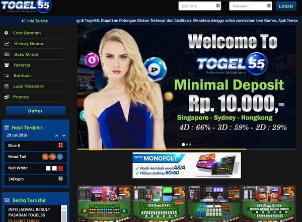 Link Alternatif Togel55 Terbaru | Agen Resmi Togel Online
